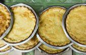 Het gebruik van azijn voor een Vlokkig Pie korst