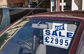 Hoe om te verkopen van een auto met een pandrecht