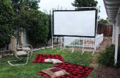 Hoe maak je een filmscherm achtertuin