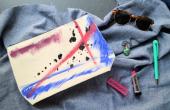 DIY Artsy Canvas etui