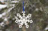 Sneeuwvlok kostuum ideeën