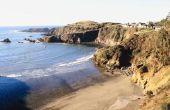 Stranden in Arcata (Californië)