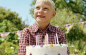Ideeën voor de 7de verjaardag van een jongen