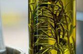 Hoe infusie van olijfolie met rozemarijn
