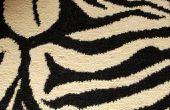Ideeën voor Leopard & Zebra Print slaapkamers