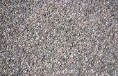 Hoe te doden gras & onkruid op geplette Rock oprit