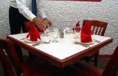 How to Be een Server bij een Fine Dining feestzaal