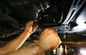 Hoe vervang ik een 1998 Chevy Blazer brandstofpomp