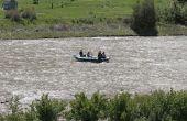 Hoe maak je een ambacht van de rivier voor kinderen
