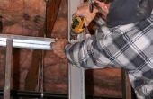 How to Frame een hoek met metalen Studs