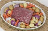 Hoe kunt u zien wanneer een stoofvlees klaar Is