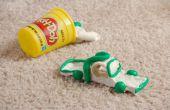 How to Get van Play-Doh uit tapijt