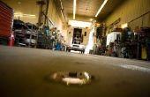 Garage vloer Concrete Crack reparatie