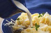 Hoe maak je een Pasta maaltijd met ingeblikte crème van Chicken Soup