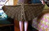 Hoe te knippen uit een rok-patroon