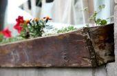 How to Build een Planter doos van hek Boards