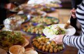 Hoe om te berekenen hoeveel voedsel voor positiebepaling voor 350 personen