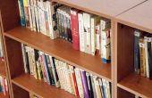 Montage-instructies voor een boekenkast pijlers