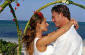 Hoe maak je een zelfgemaakte boog voor een bruiloft uit kippengaas