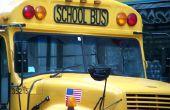 Hoe word ik een buschauffeur van School in Californië