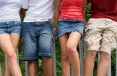 Hoe maak je Shorts uit broek die te klein
