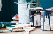 Hoe evenwicht muur & rietboorder verfkleuren