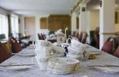 De duurzaamheid van porselein serviesgoed