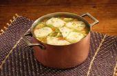 Kan je de Tortilla soep in een Crock-Pot koken?