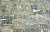 Het verwijderen van vlekken van marmeren tegels