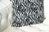 How to Fix krassen in wit lederen sofa 's