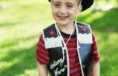 Hoe maak je een gemakkelijk Cowboy Vest voor een peuter