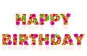 Hoe maak je een teken van Happy Birthday