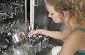 Hoe schoon een vaatwasser met Borax