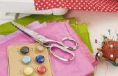 De gemakkelijke manier om de draad van een naaimachine naald