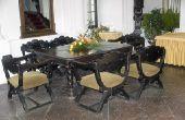 Hoe te reinigen en glanzen een 50s Formica tafel