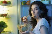 Hoe te stoppen met het eten van de nachtelijke Binges