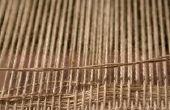 Hoe maak je een zelfgemaakte weven Loom