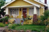 Welke kleur klinkers voor gebruik met een geel huis