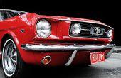 Jaren 1960 Ford Mustang informatie