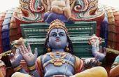 Hindoe ritueel voor de zuivering van het huis