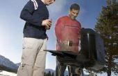Hoe te hete rook varkensvlees