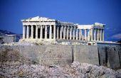 Oude Griekse tempel kunst projecten voor kinderen