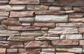 How to Install gekweekte steen op een buitenmuur