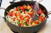 Hoe gebakken groenten