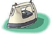 Hoe schoon een verschroeide ijzer