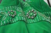 Hoe een smaragd groene jurk Accessorize
