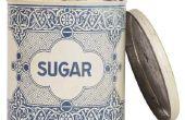 Hoe ter vervanging van de suiker van banketbakkers van lijstsuiker
