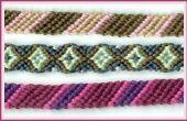 Hoe maak je een vriendschap armband-borduurwerk Floss patroon