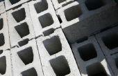 Hoe te knippen betonnen blok muur Caps