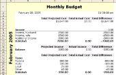 Hoe vindt u een goede Online begroting werkblad